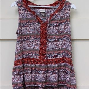 Knox Rose babydoll tank top